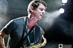 Dominic Lalli...sexy sax man of Big Gigantic