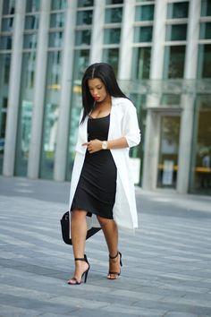 Aso's mac, American Apparel dress, River Island heels, Zara bag