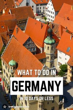 Trying to figure out what to do in Germany on a time-crunch? Follow along with this 10-day Germany itinerary to make the most of your trip.