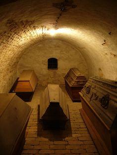 coffins.