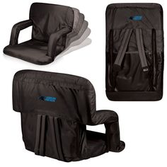 Carolina Panthers Stadium Seat / Beach Chair - Ventura By Picnic Time – Cooler Time