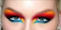 Jeremy Scott fall 2011 runway makeup