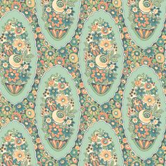 Lady Edith's Cameo Downton Abbey Fabric