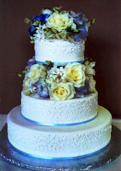 Cake Blue Carolyn Wong Custom Cakes Desserts