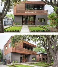 Architecture firm CONTENT, have designed the Kipling Residence, a new home in Houston, Texas.