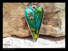 resin jewelry ideas | Randam Art - Assemblage Resin Jewelry