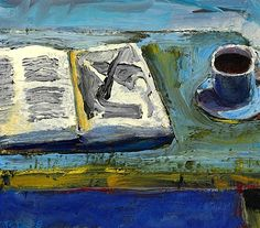 Richard Diebenkorn (1922-1993)  Still Life with Book