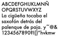 El tipo Futura (1927) es el tipo más conocido y de mayor calidad de Paul Renner diseñador alemán.