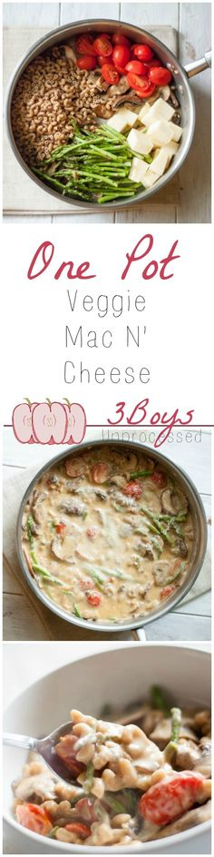 30 minutes and just a few simple ingredients to this tasty and veggie-licious mac n cheese!