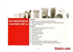 Page 7 Keuntungan dan Syarat untuk mencapai Ep-L (Leader) CMN