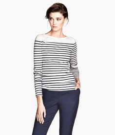 #H&M Stripped classic Shirt