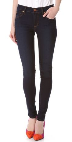 James Jeans Twiggy Legging Jeans (They fit so well, keep their shape after multiple wears, and are high enough you can bend over in them.without being a high-waisted jean! Casual Wear, Casual Outfits, Fashion Outfits, Casual Clothes, Clothes For Women, Womens Fashion, Pretty Outfits, Cute Outfits, Pretty Clothes