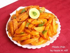 MASALA CHIPS - These fries/chips are aspecialityin most parts of Kenya. The recipe takes your normal average plate of fries to a whole other level. Saucy and spicy, these masala fries work beautifully with bbq dishes or even as a snack on their own!