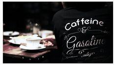 Caffeine &  Gasoline #pendejo #typography