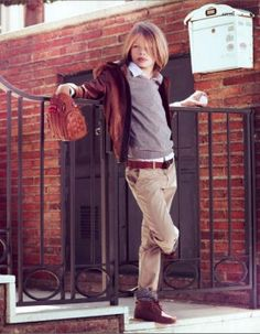 Stylish since young, yes please! || Elvis para Massimo Dutti