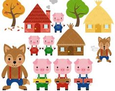 Here you find the best free Three Clipart collection. You can use these free Three Clipart for your websites, documents or presentations. Big Bad Wolf, Bear Clipart, Goldilocks And The Three Bears, Ninja Party, Kids Nursery Rhymes, Clip Art, Three Little Pigs, Felt Fabric, Digital Stamps
