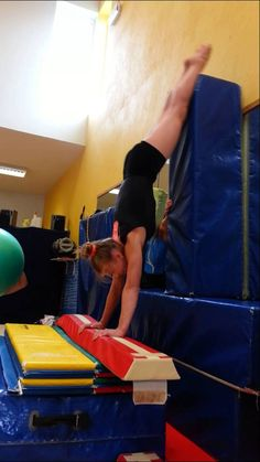 Cast handstand drill