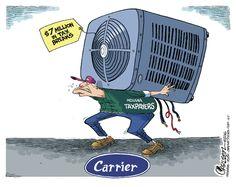 Stuart Carlson Editorial Cartoon, December 07, 2016 on GoComics.com
