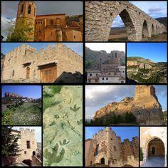#Alpuente, interior de #Valencia, comarca #LosSerranos, encuadrado en una importante ruta medieval y paleontológica. Vía @AmazingSpain (España a tu alcance)