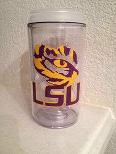 Louisiana State University LSU Eye of the Tiger by NylasGiftShoppe, $12.00