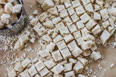 Coconut Butter Chips | edibleperspective.com