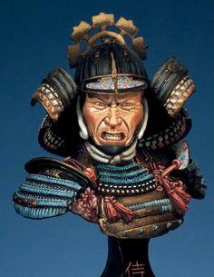 Samurai Art, Samurai Warrior, Japanese Warrior, Art Sculpture, Plastic Models, Figure Painting, Indian Actresses, Sketching, Sword