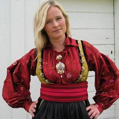 Folk Costume, Costumes, Culture Clothing, Mrs Claus, Going Out Of Business, Norway, Scandinavian, Christmas Sweaters, Traditional
