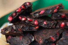 Pomegranate Carob Bark (Paleo, AIP, Gluten Fre, Dairy Free, Nut Free)