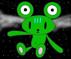 Teddy bear cartoon character - Strange animal