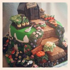 One of the best shed cakes we've ever seen!