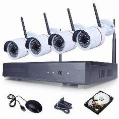 [ $59 OFF ] New Listing Plug And Play Hd 720P Wireless Cctv System 1Tb Hdd Outdoor Security Ip Camera Wifi Video Surveillance Kit