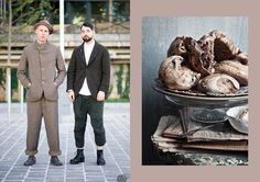 Vassili Di Napoli and Mike Nouveau Street Style shot by I'M KOO // Chocolate Meringues at What Katie Ate What Katie Ate, Chocolate Meringue, Street Style, Food, Fashion, Moda, Urban Style, Fashion Styles, Essen