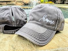 messy bun hat Distinct Headwear Presents. Ladies Embroidered Home High Ponytail Cap IMPORTANT: Please type the name of the state you need in notes/personalization area at checkout to av Texas Baseball, Baseball Hats, Distressed Baseball Cap, High Ponytails, 50 States, Messy Bun, Cricut Craft, Cricut Ideas, Hat Styles