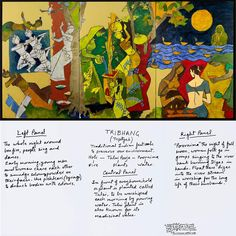Maqbool Fida Husain, known as M. Husain was one of India's most eminent artists. Indian Civilization is an ambitious series of eight triptych paintings, commissioned in 2008 by Mrs Usha Mittal as a tribute to the richness of India's history. Om Namah Shivaya, Mf Hussain Paintings, Indian Festivals, Indian Paintings, Victoria And Albert Museum, Triptych, Artist Painting, Indian Art, Folk Art