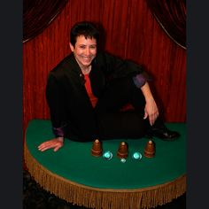 Suzanne - First Female Magician to win the Academy of Magical Arts, Close-Up Magician of the Year (2010).