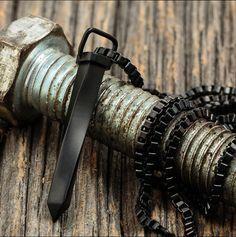 The matte black Jern pendant // available now in 6 colours // $50 // vitalydesign.com #vitaly #fashion #pendant #matteblack