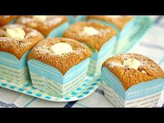 Hokkaido Chiffon Cupcake (北海道牛奶蛋糕) - Recipe By ZaTaYaYummy - YouTube
