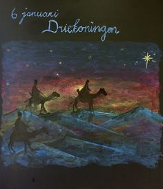 Chalkboard Drawings, Chalk Drawings, Chalkboard Art, Nativity Scenes, Waldorf Education, Blackboards, Wild And Free, Painting & Drawing, Festivals