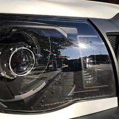 05-11 Toyota Tacoma [Retro Style] Projector Headlights - Black