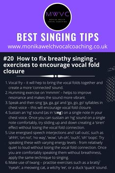 Vocal Lessons, Singing Lessons, Singing Tips, Music Lessons, Music Sing, Songs To Sing, Piano Music, Vocal Warmups, Music And The Brain