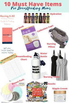 Must Have Items for Breastfeeding Moms | breastfeeding necessities | breastfeeding hacks