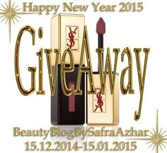 Happy New Year Giveaway 2015