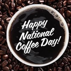 Celebrate with a cup! #nationalcoffeeday #coffee  #coffeelover