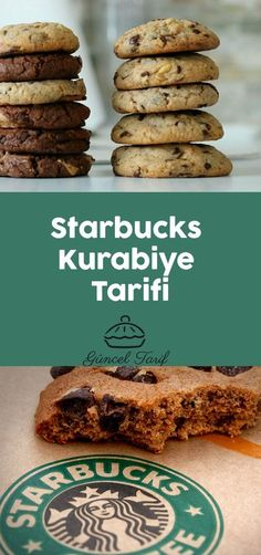 Starbucks Kurabiye Tarifi Cookies et Biscuits Starbucks Kurabiye Tarifi - Mutfakgram Fun Easy Recipes, Easy Cookie Recipes, Easy Desserts, Easy Meals, Dessert Recipes, Drink Recipes, Meat Recipes, Menu Starbucks, Starbucks Cookies