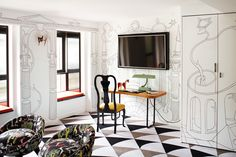 Paris's Vibrant (And Surrealist) Hotel Montana - The Hotel Montana's suites are each inspired by a different person or - The New York Times