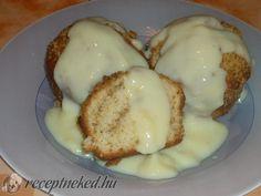 Hamis aranygaluska muffin   Receptneked.hu (olcso-receptek.hu) Muffin Recipes, Cake Recipes, Hungarian Recipes, Hungarian Food, Fast Growing, Something Sweet, Meal Prep, Food And Drink, Eggs