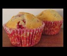Raspberry Coconut Muffins