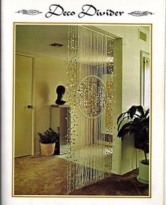 This booklet has some unusual macrame projects to make. There are beaded room dividers, Hanging lamps and plant hangers. There are also inserts: