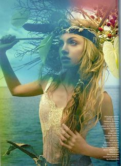'A Midsummer Night's Dream' photoshoot styled by Anne Marie Curtis and photographed by Erique Badulescu.