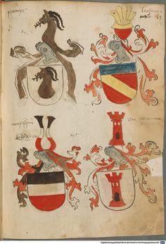 Tirol, Anton: Wappenbuch Süddeutschland, Ende 15. Jh. - 1540 Cod.icon. 310 Folio 59r
